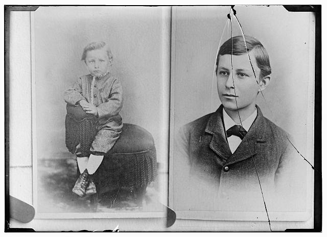 [Childhood portraits of Wilbur Wright]