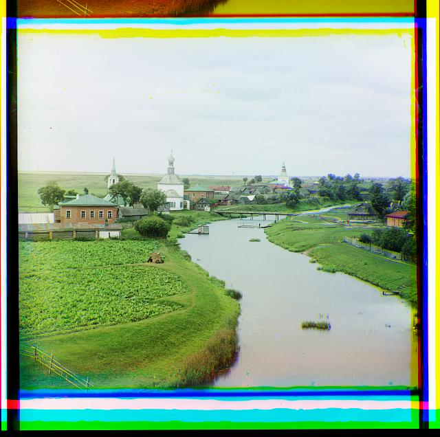 Vid na Suzdal po r. Kamenkie