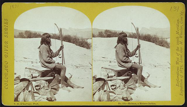 Maiman, a Mohave Indian.