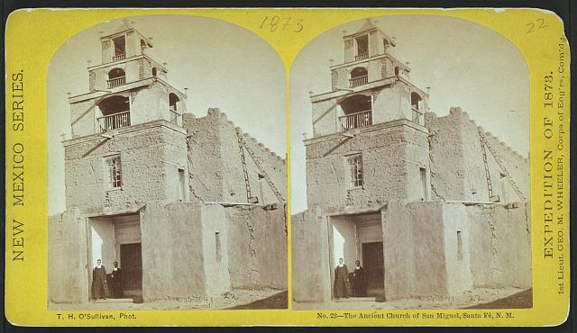 The ancient church of San Miguel, Santa Fé, N.M.