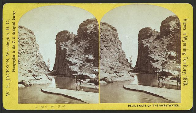 Devil's Gate on the Sweetwater