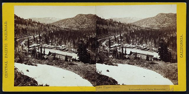 Upper Cisco, Rattlesnake and Yuba Mountains