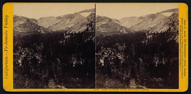 Little Yo-Semite Valley, from Cap of Liberty
