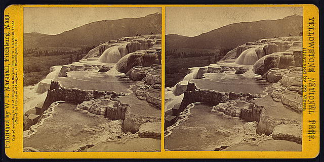 Mammoth Hot Springs Series. Upper Basins