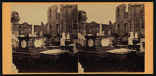 Churchyard, Circular Church, Meeting St., Charleston, S.C.