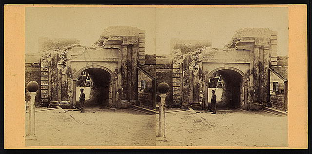 Sally port (outside), Fort Moultrie, Sullivans Island