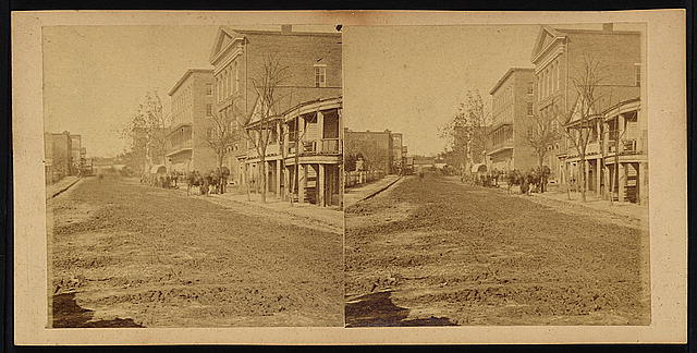 Decatur Street, Masonic Hall, and Trout House, Atlanta, Ga., Nov. 1864