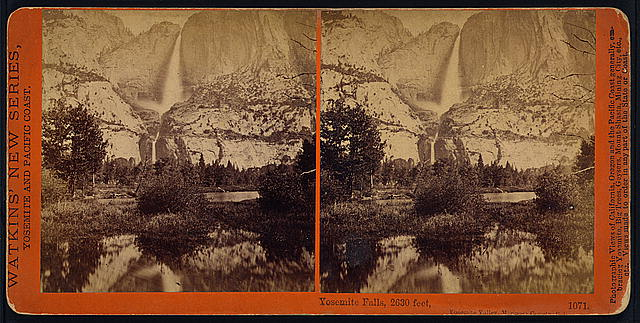 Yosemite Falls, 2630 feet, Yosemite Valley, Mariposa County, Cal.