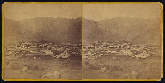View of Golden City; celebrated for its coal mines and manufactories
