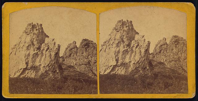 The Main Ridge in Pleasant Park, between Denver and Colorado City