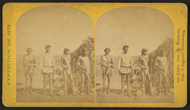 Apache Braves, ready for the trail, Arizona