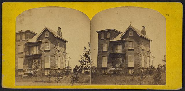 General Tyler's residence, [Hamilton], Virginia, no. 645