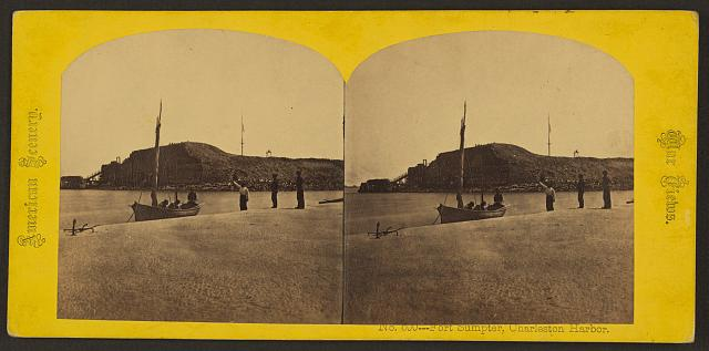 Fort Sumter, Charleston Harbor, no. 600