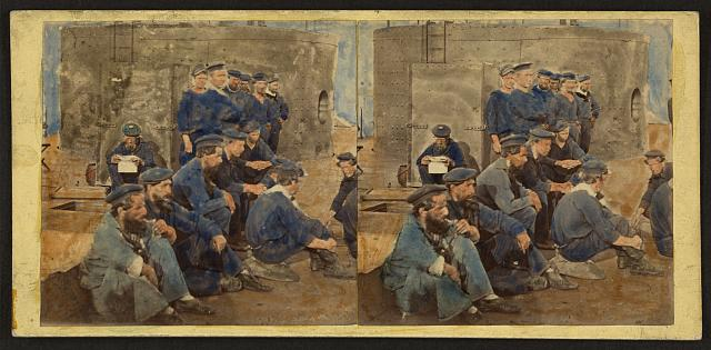 Crew of Monitor, Hampton Roads, Va. 1862