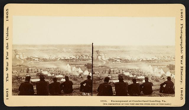 Encampment at Cumberland Landing, Va.