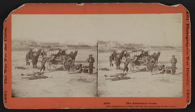 The Ambulance Corps.