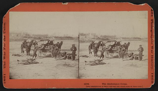 The Ambulance Corps.