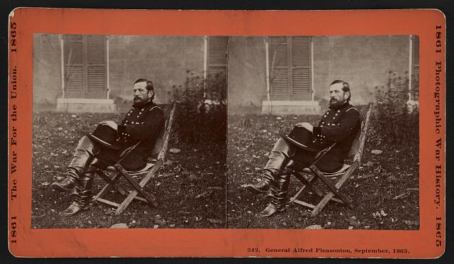General Alfred Pleasonton, September, 1863