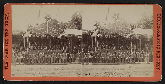 Grand review of the great veteran armies of Grant and Sherman at Washington, on the 23d and 24th May, 1865