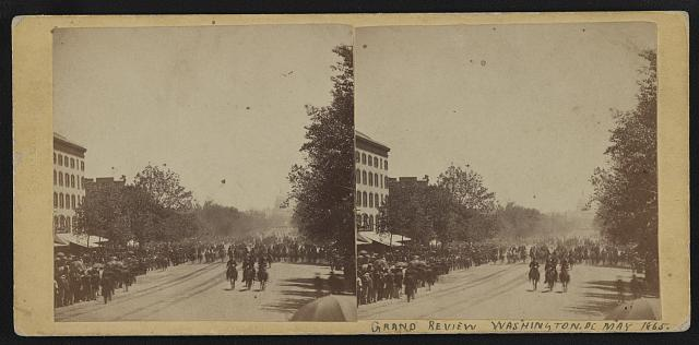 Grand Review, Washington, D.C., May 1865