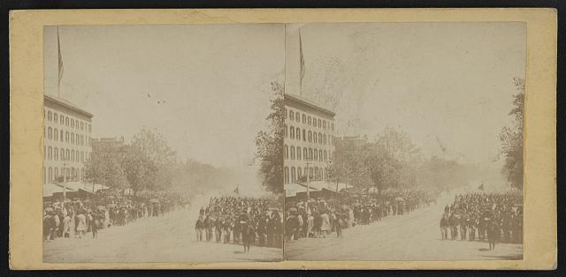 [Grand review of the great veteran armies of Grant and Sherman at Washington, on the 23rd and 24th May, 1865]