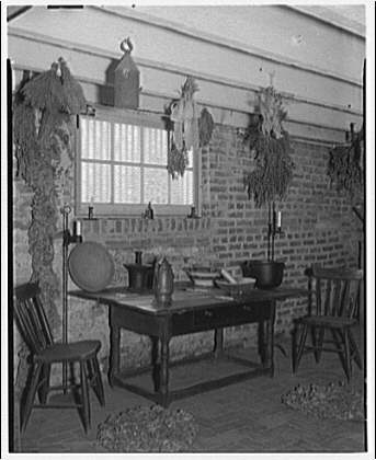 Custis-Lee Mansion. Kitchen in Custis-Lee Mansion I