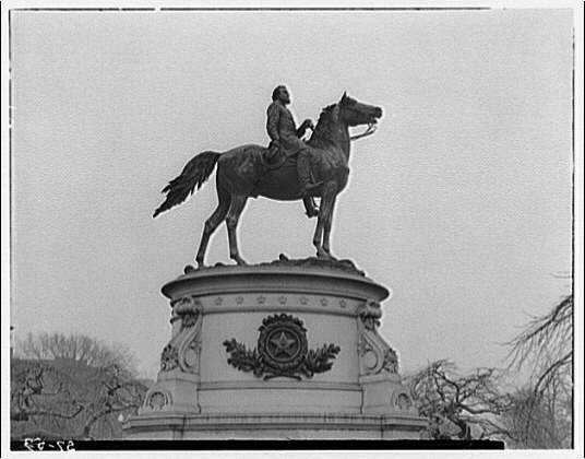 Statues and sculpture. General Thomas statue