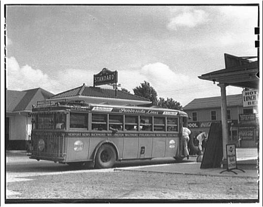 Waldorf, Maryland and vicinity Gas station and bus II