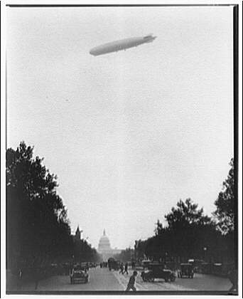 Graf Zeppelin over Washington