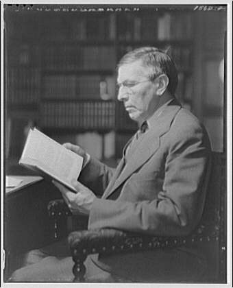 Folger Library. Mr. Slade, librarian at Folger Library II