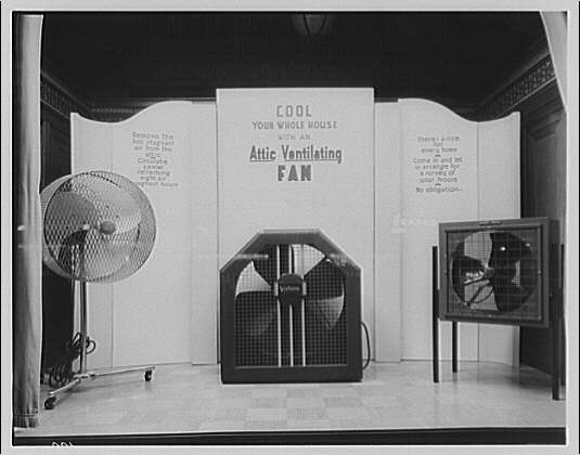 Electric Institute of Washington, Potomac Electric Power Co. Air conditioning displays IV