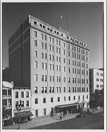 Chesapeake and Potomac Telephone Company. Hallway in Chesapeake and Potomac Building