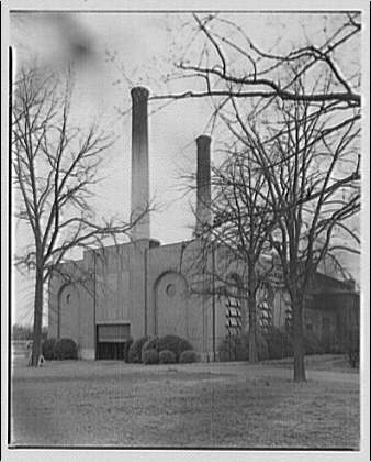 Louis Justement, architect. Capitol Power Plant, New Jersey Ave. and E St. II