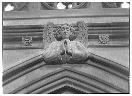 National Cathedral. Angel, National Cathedral