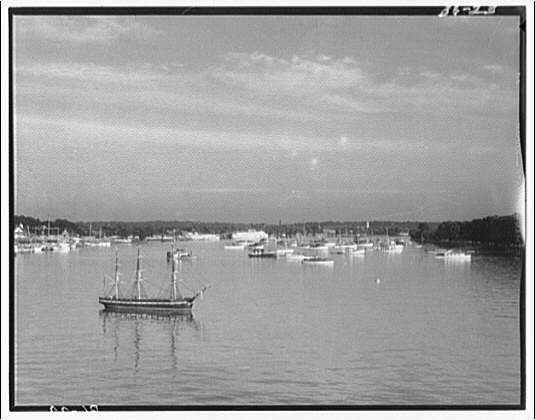 Boats. Boats anchored in Washington Channel IV