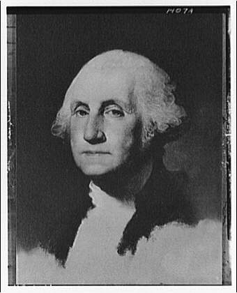 George and Martha Washington portraits. George Washington I