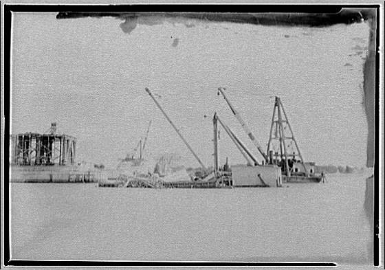 Memorial Bridge. Construction of Memorial Bridge II