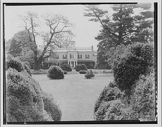 Doughoregan Manor. View of Doughoregan Manor and part of the gardens