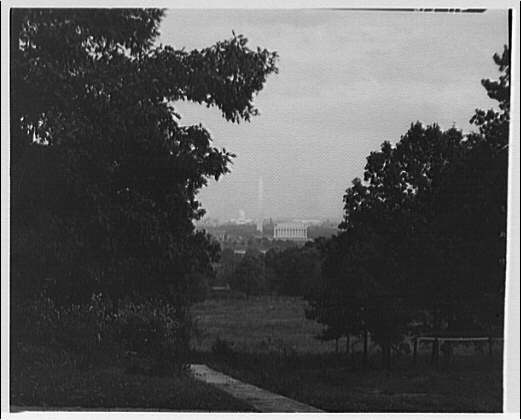 Washington, D.C. City from Custis-Lee Mansion II