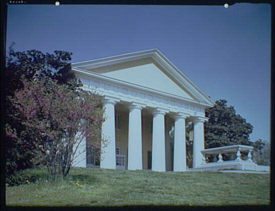 Arlington National Cemetery. Custis-Lee Mansion exterior