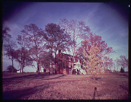 Appomattox, Virginia. McLean House in Appomattox, rear view II