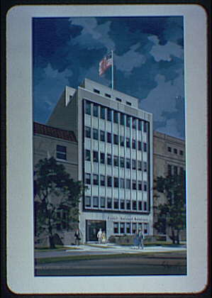A.R. Clas buildings. Rendering of multi-story building