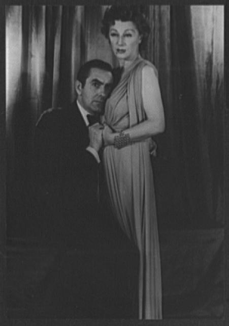 [Portrait of Judith Anderson and Tyrone Power, in John Brown's Body]