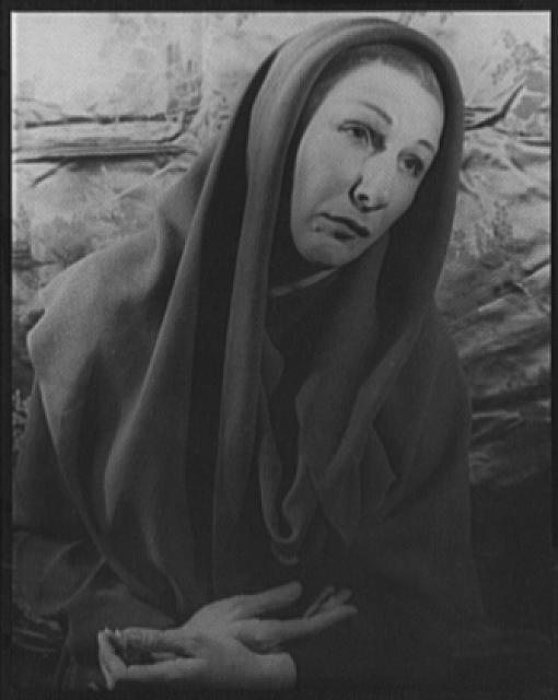 [Portrait of Judith Anderson in Family Portrait]