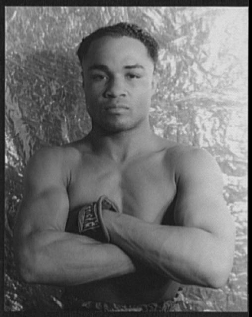 [Portrait of Henry Armstrong]