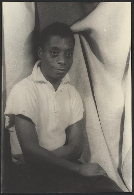 [Portrait of James Baldwin]