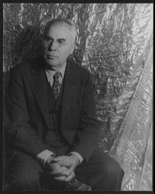 [Portrait of Dr. Albert C. Barnes]