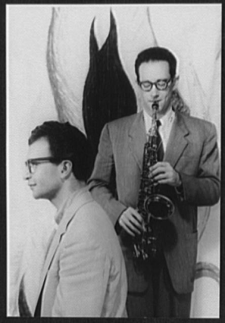 [Portrait of Dave Brubeck and Paul Desmond]