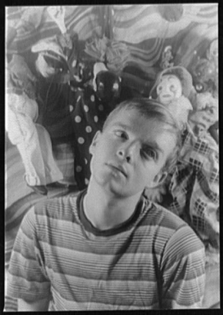 [Portrait of Truman Capote]
