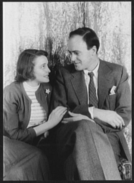 [Portrait of Roald Dahl and Patricia Neal]